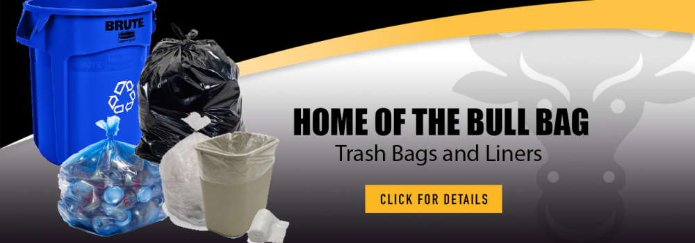Crown Products Exclusive Bull Bag Trash Bags